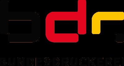 Logo Bundesdruckerei bdr
